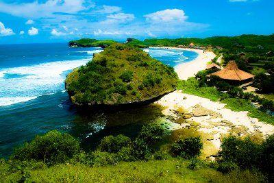 Sadranan Beach, Yogyakarta, Indonesia