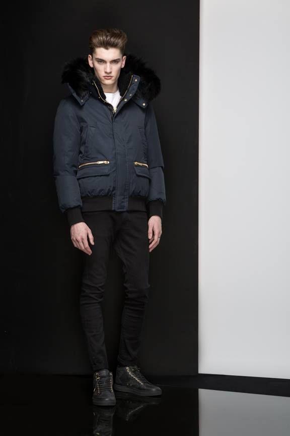 COHEN Navy - Shop it at www.mackage.com #mackage #winter #menswear #fw14