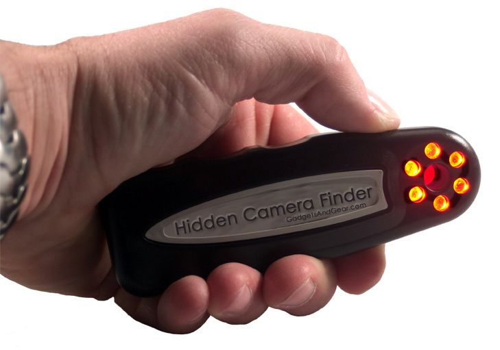 Find Out If You're Being Spied On With The Hidden Camera Detector! when in a big group you can't be to careful.