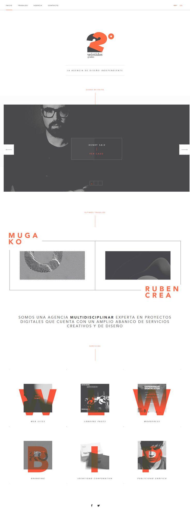 Veintidos Grados Conceptual and Clean Design