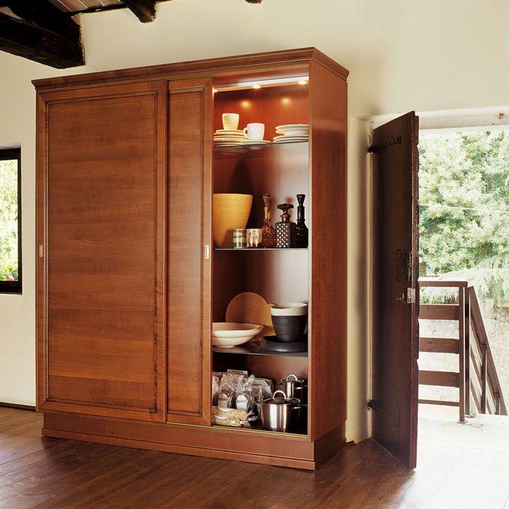 armadio dispensa per cucina soluzione classica da ikea