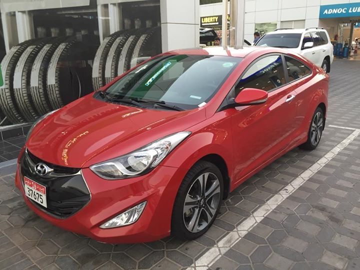 Selling Hyunday Elantra Coupe 2013 74,000 km AED 34,000 Expat female driven PM for further info 0567588479 #rangloo, #bar, #accessories