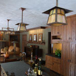 Craftsman Bungalow Kitchen Lighting