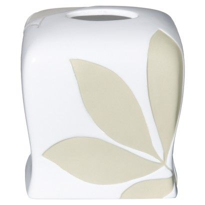 Shadow Leaves Tissue Box Cover $29.99