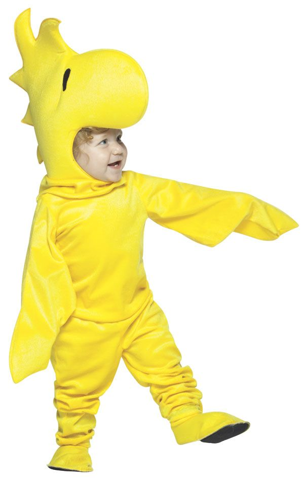 Baby and Toddler Deluxe Peanuts Woodstock Costume - Peanuts Costumes