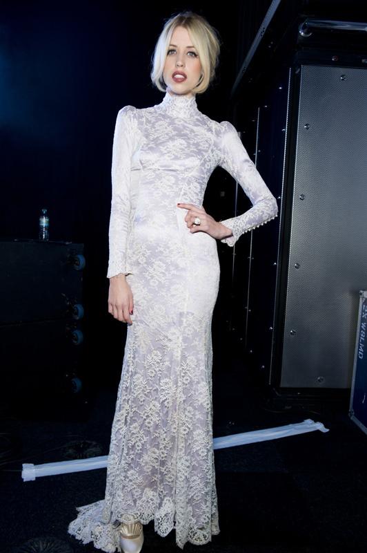 Peaches Geldof in the dress from our Wilhelmina video
