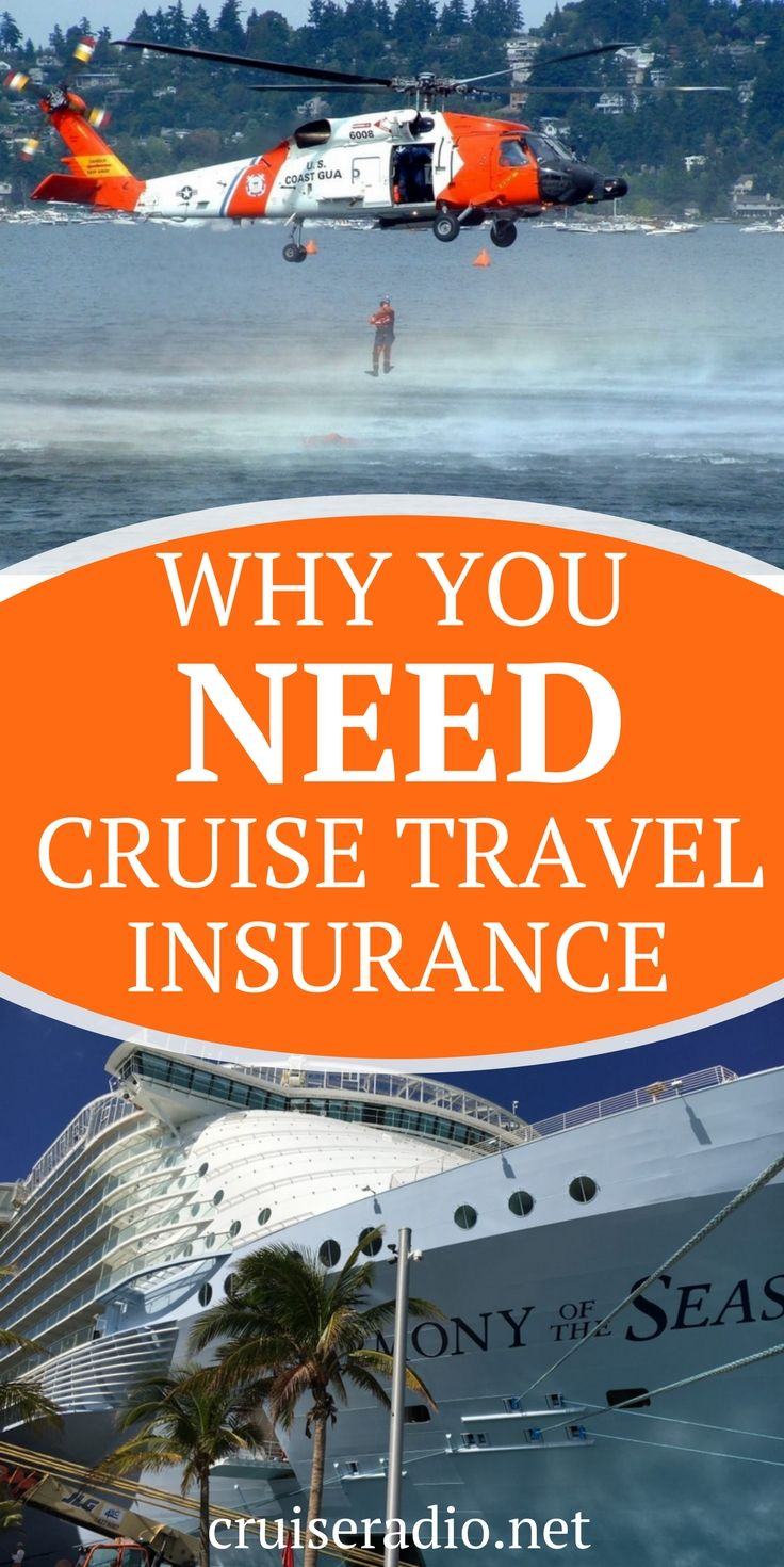 travel insurance - why you should buy it for every cruise. #travelinsurance #cruising cruise tips #traveling travel tips #vacation vacation #wander #insurance