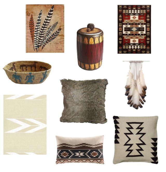 Tendencias de decoración para el 2015: Nativo Americano y esquimal
