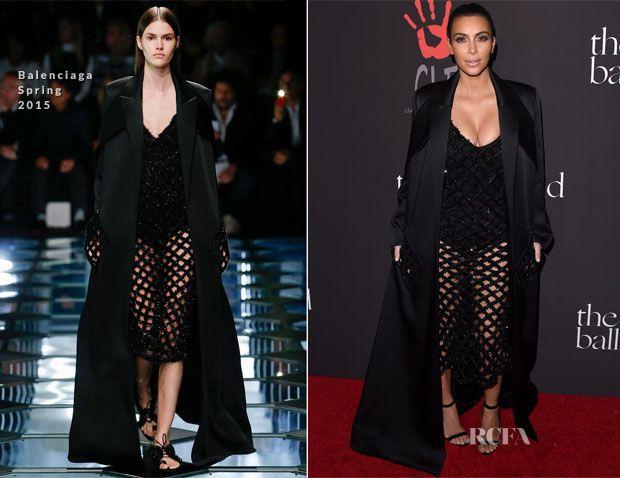 Kim Kardashian In Balenciaga – First Annual Diamond Ball for the Clara Lionel Foundation