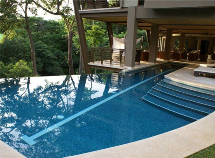 indoor outdoor pool dream house pinterest. Black Bedroom Furniture Sets. Home Design Ideas