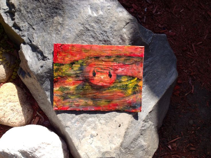 Red Snake by GalleryGibson on Etsy