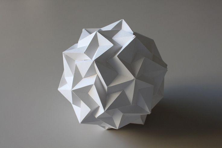 Geometric Paper Cutting Patterns