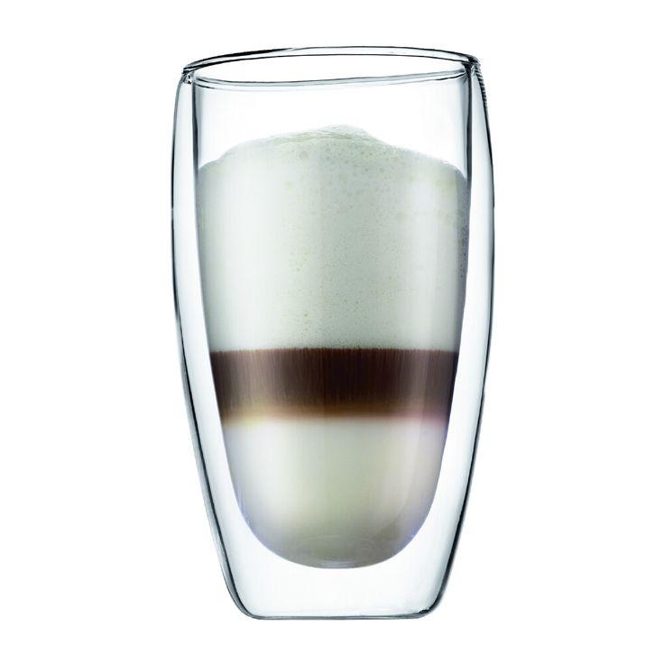 Bodum Pavina dubbelwandige glazen (per 2) 0.45 liter