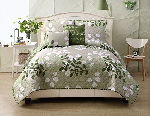 5 Piece Sage and Taupe Reversible Queen Size Quilt Set, B... https://www.amazon.com/dp/B00OYM2P12/ref=cm_sw_r_pi_dp_x_-jdPxbSKN7Q9K
