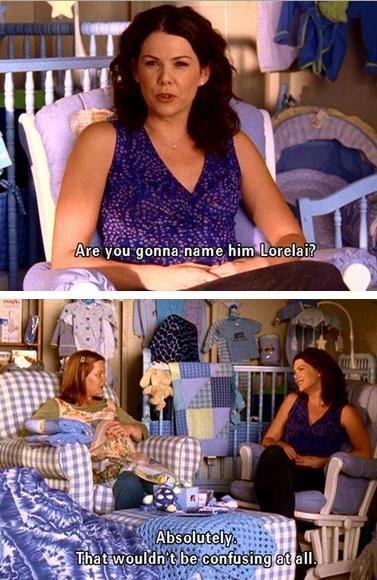 Naming Sookie's baby