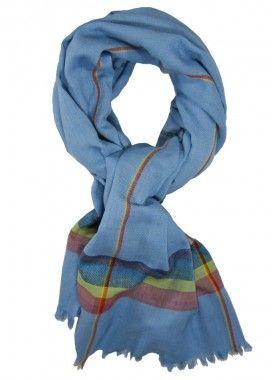 Scarf4All Multi Stripe Scarf. Buy @ http://thehubmarketplace.com/Multi-Stripe-Scarf-Blue