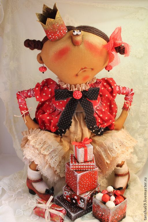 Капризка! - разноцветный,принцесса,текстильная кукла,ароматизированная кукла