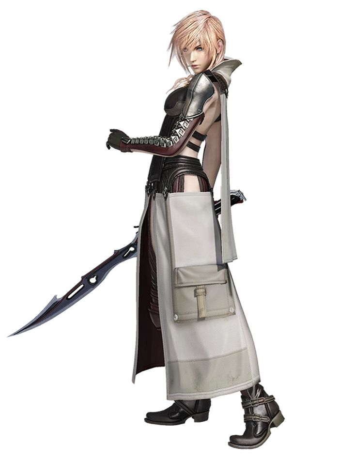 Lightning, Equilibrium Outfit from Dissidia Final Fantasy NT