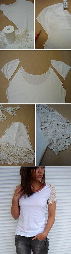 3 customizações para uma camiseta branca   Customizando - Blog de customização de roupas e decoração