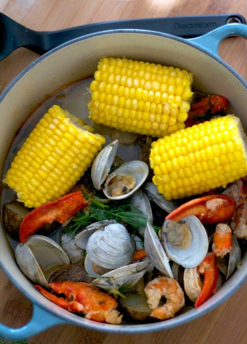 One Pot Clambake - The Realistic Nutritionist