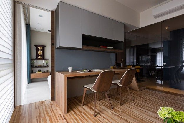Japanese living in Taiwan by HOZO interior design 15