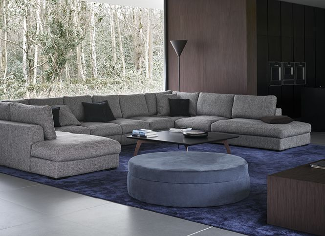 Contemporary stylish home featuring our Cenova sofa