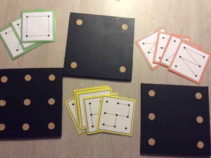 Krijtbordjes raamfiguren met opdrachtkaarten *liestr*