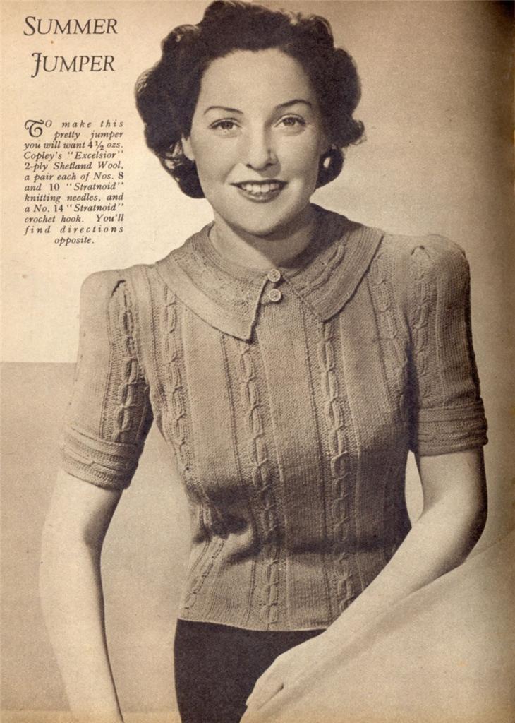 318 Best Vintage Patterns Images On Pinterest Knit Patterns