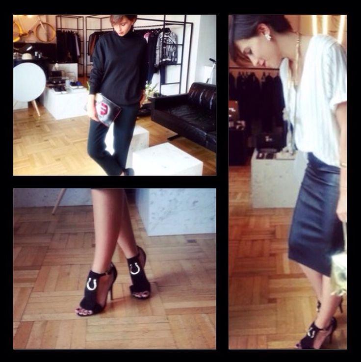 """Ayşegül Kunter, Vogue Türkiye'nin """"Bugün Ne Giydim?"""" sayfası için Shopi go'dan favori parçalarını seçti. / Aysegul Kunter wore some of her favorite pieces from Shopi go for Vogue Turkey's """"Today I'm Wearing"""" section"""