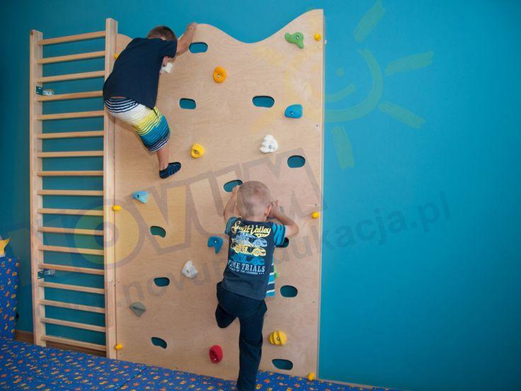 NOVUM - Ścianka wspinaczkowa  #novum #novumedukacja #kids #forkids