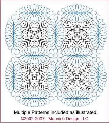 Spectacular Munnich Design Quilt Recipes Digital Quilting Pattern Browse All Patterns