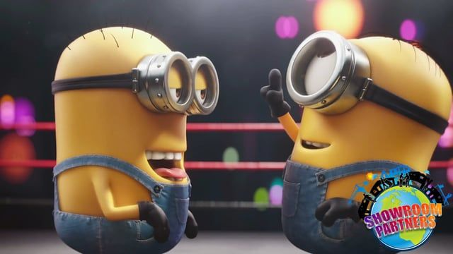 The minions are at it again. Watch Bob and Stuart battle it out in the ring. Watch all of our minion videos right here.