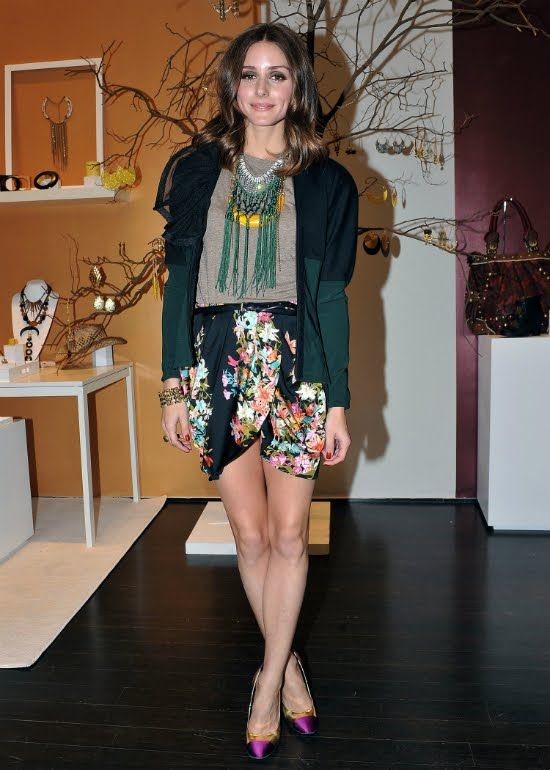At the Charming Charlie pop-up store in Soho April 18.2012