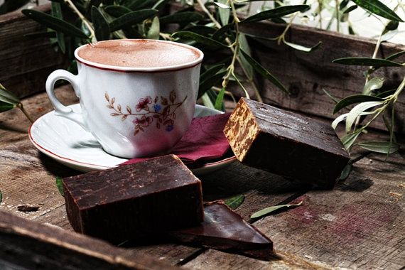Chocolate soap refreshing revitalising toning by 111elies on Etsy