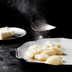 Kopytka serowe - Przepis