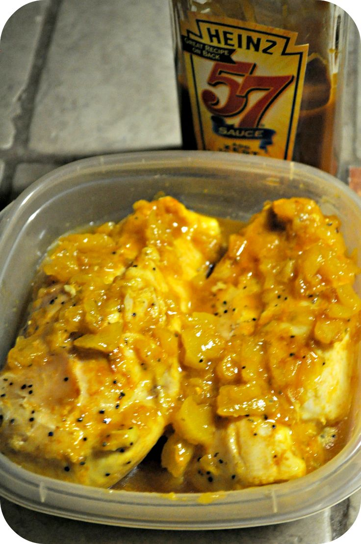Park Avenue: DCB Recipe #41: Heinz 57 Pineapple Chicken