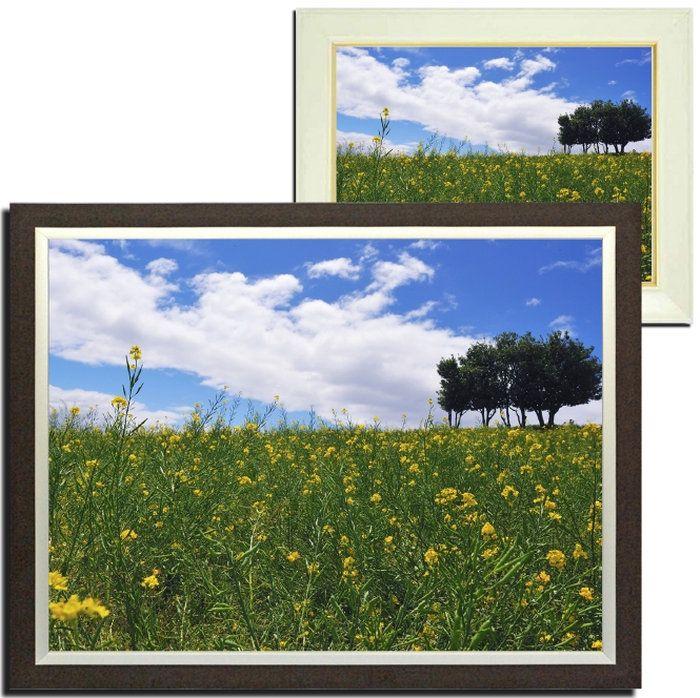 風景画壁掛けインテリア春の景色額付きアートフレーム
