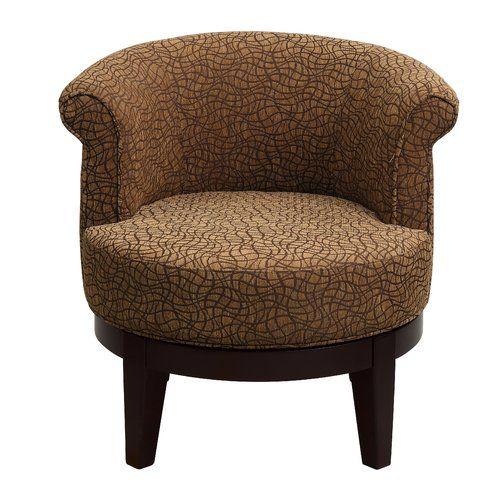 Found it at Wayfair - Abbottsmoor Swivel Barrel Chair