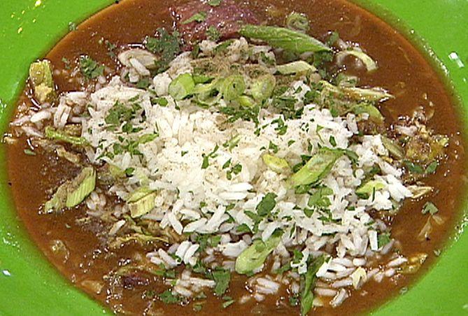 Cabbage and Ham Hock Gumbo Recipe