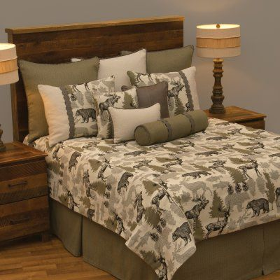 Echo Bedding Set by Wooded River - WD26720-SQ, WOOR440-10