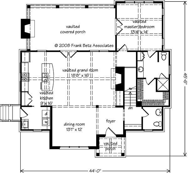 E C Ca D Fcc C Dfe B Southern Living House Plans Compact House