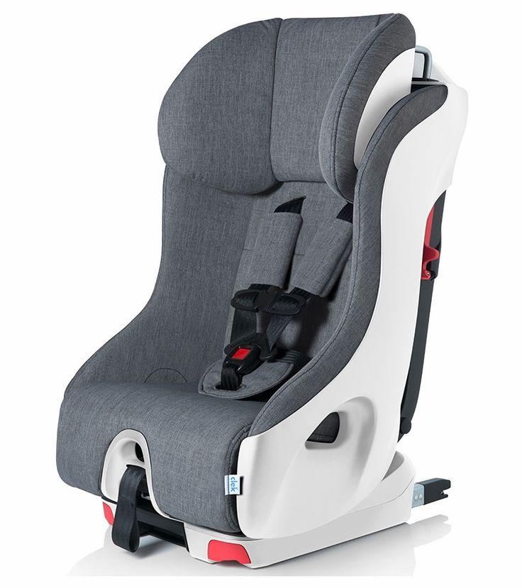 Clek 2017 Foonf Convertible Car Seat - Cloud w/ White Base