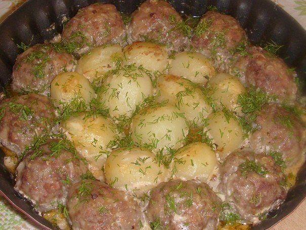 Котлеты с картошки и риса
