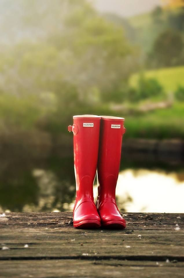 #Hunter #Boots at Sarabah Estate Vineyard