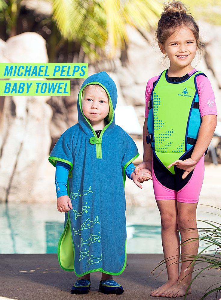 Swim Baby Towel From Micheal Phelps' Brand