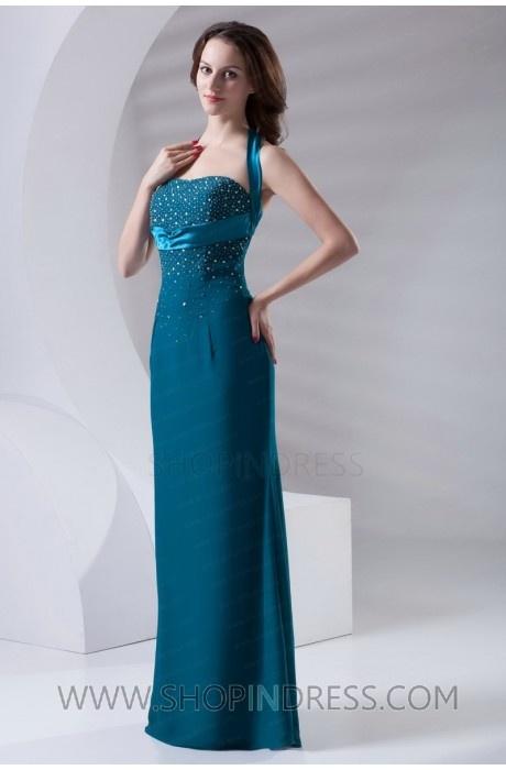 blue long dress #blue #long #fashion #gowns