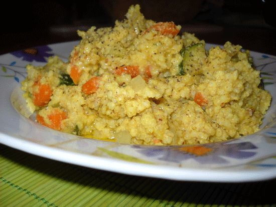 Migliotto alle verdure | EssereVegetariani