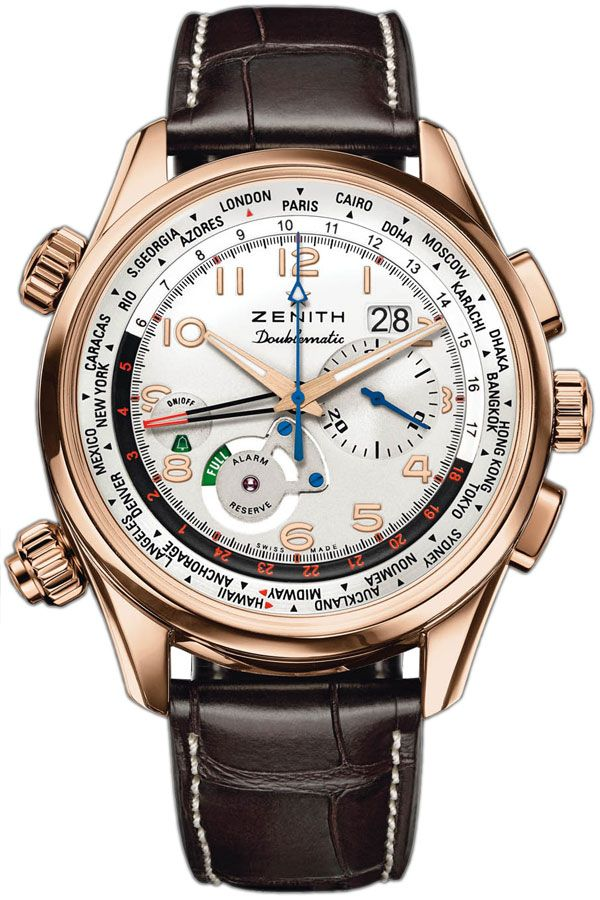 #Zenith Doublematic World Timer priced at USD 13,200.