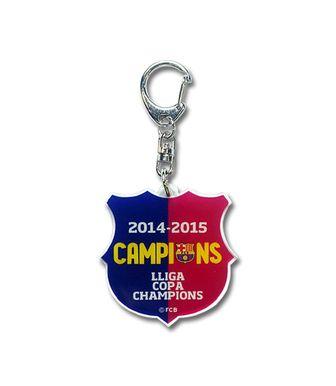 FCバルセロナ オフィシャル  CHAMPIONS 優勝記念 【 アクリル キーリング 】 『Barcelona Official Product』
