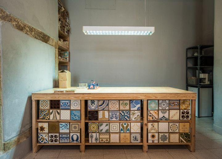 Cortiço & Netos ceramic store, Lisbon   Portugal home decor